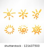sun set | Shutterstock .eps vector #121637503