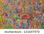 Abstract Multicolored...