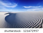 Tranquil Image Of Sand Dunes...