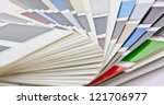 color card | Shutterstock . vector #121706977