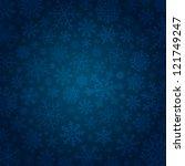 beautiful blue vector... | Shutterstock .eps vector #121749247