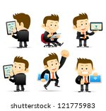elegant people series ... | Shutterstock .eps vector #121775983
