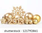New 2013 year - stock photo