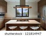 beautiful apartment  interior ... | Shutterstock . vector #121814947