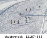 Lessons In The Childrens Ski...