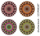 collection of round ornamental...   Shutterstock .eps vector #121908187