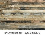 Old Wooden Wall Background Or...