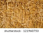 In A Pile Of Straw Texture...