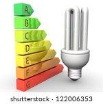 3d energy efficiency concept | Shutterstock . vector #122006353