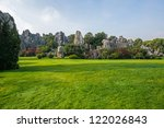 stone forest in yunnan  china... | Shutterstock . vector #122026843