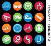 Bicycle Modern Icon Set