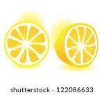 fresh lemon | Shutterstock .eps vector #122086633