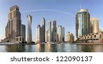 dubai  uae   october 23  view... | Shutterstock . vector #122090137