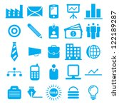 vector illustration of blue... | Shutterstock .eps vector #122189287