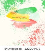 abstract grunge watercolour... | Shutterstock .eps vector #122204473