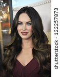 "Megan Fox at the world premiere of her new movie ""This Is 40"" at Grauman's Chinese Theatre, Hollywood. December 12, 2012  Los Angeles, CA Picture: Paul Smith - stock photo"