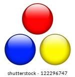 primary colors red blue and... | Shutterstock . vector #122296747