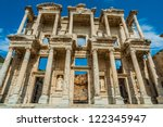 Ephesus Ancient Greek Ruins In...