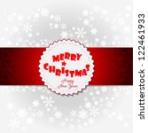 design for xmas card | Shutterstock .eps vector #122461933