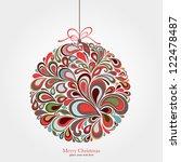christmas background   Shutterstock .eps vector #122478487