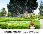 alcazar gardens in balboa park  ...