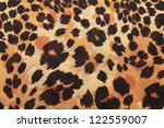 background of leopard skin... | Shutterstock . vector #122559007