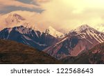 mountains in alaska near valdiz ... | Shutterstock . vector #122568643