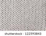 white knitting wool texture... | Shutterstock . vector #122593843