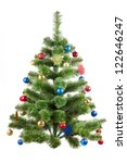 photo  of christmas tree | Shutterstock . vector #122646247