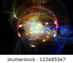 arrangement of lights  fractal... | Shutterstock . vector #122685367