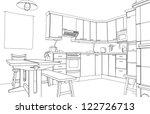 contemporáneo,armarios,nacional,dibujo,muebles,gráfico,inicio,casa,ilustración,en el interior,interior,interior,cocina,moderno,esquema