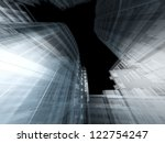 abstract architecture | Shutterstock . vector #122754247
