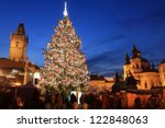 Christmas Tree On The Old Town...