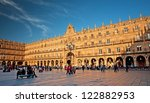 Plaza Mayor Of Salamanca  Spain