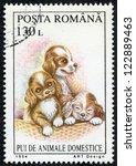 romania   circa 1994  a stamp... | Shutterstock . vector #122889463