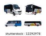 a set of coaches   Shutterstock . vector #12292978