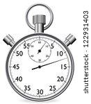 vector stop watch  realistic...   Shutterstock .eps vector #122931403