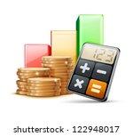 vector illustration of business ... | Shutterstock .eps vector #122948017