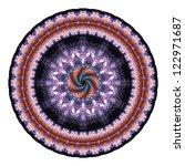 Mandala Created From Fractals ...