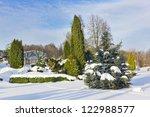 The Winter Frozen Park Part....