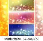 shiny lights celebration web... | Shutterstock .eps vector #123038677