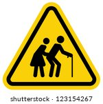 aged sign | Shutterstock .eps vector #123154267