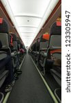 Airplane Interior And Seats In...