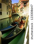 gondolas | Shutterstock . vector #123308647