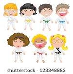 7,azione,asiatiche,sfondo,cintura,nero,capelli neri,bionda,ragazzo,capelli castani,cartone animato,bambini,femmina,gioco,ragazza