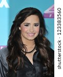 "Demi Lovato at the press conference for the season finale of Fox's ""The X Factor"" at CBS Televison City, Los Angeles. December 17, 2012  Los Angeles, CA Picture: Paul Smith - stock photo"