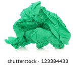 Green Tissue Paper In A...