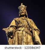 Bronze Statue Of Charles Iv. I...