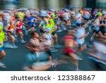 paris   france   april  14  ...   Shutterstock . vector #123388867