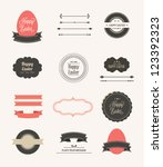 collection of labels and vector ... | Shutterstock .eps vector #123392323